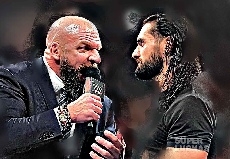 Triple H y Seth Rollins