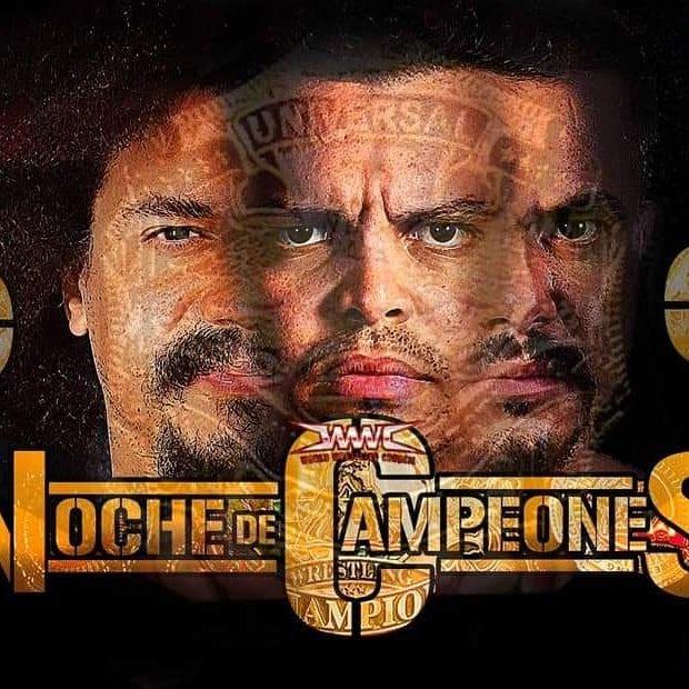 Noche de Campeones: Carlito Caribbean Cool vs Epico vs Primo por el Campeonato Universal 1
