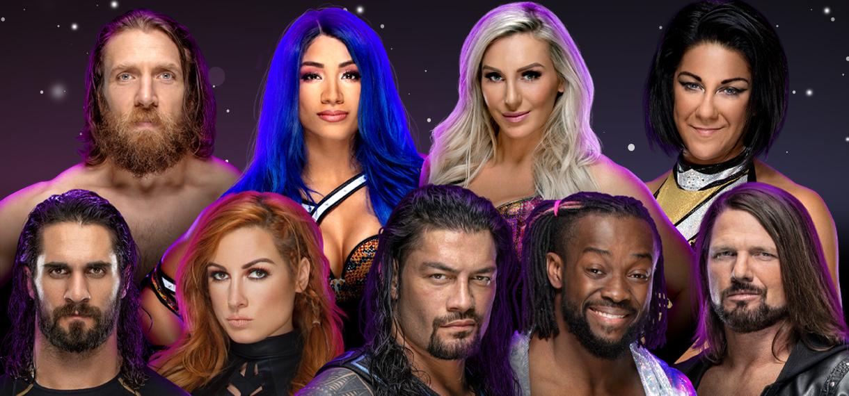 cambios en los estelares de WWE Live México y Starrcade