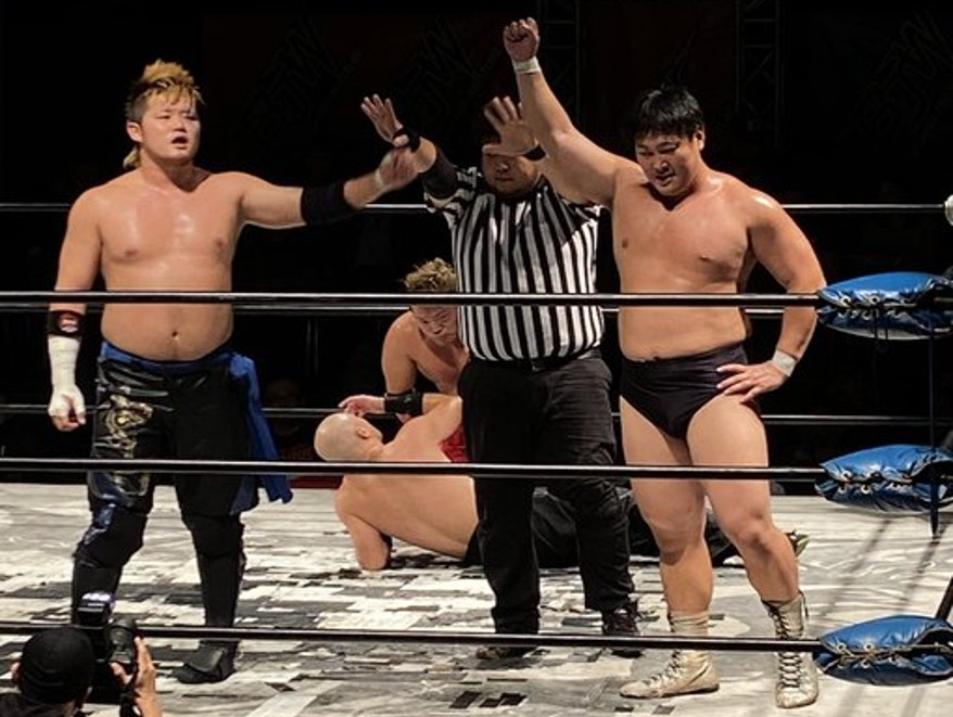 "BJW: ""Saikyou Tag League 2019"" En acción del Grupo Strong 1"