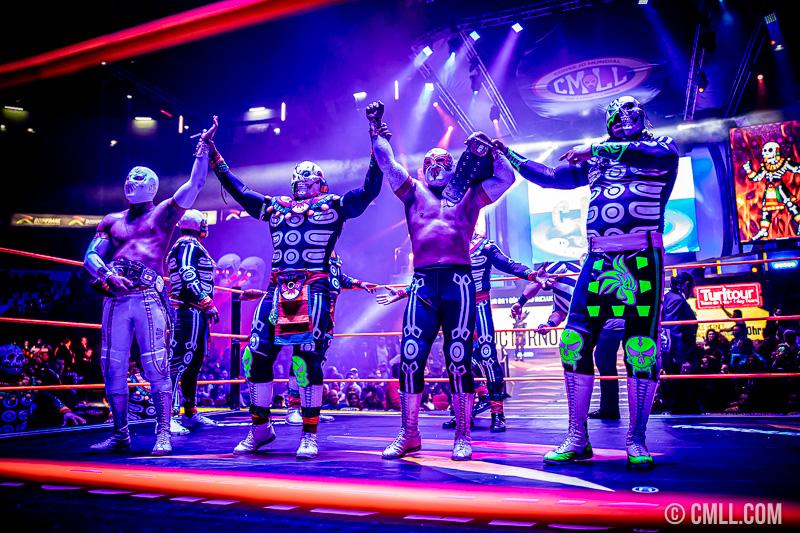 CMLL: Sansón firme Rey del Inframundo, nuevos campeones de parejas 37