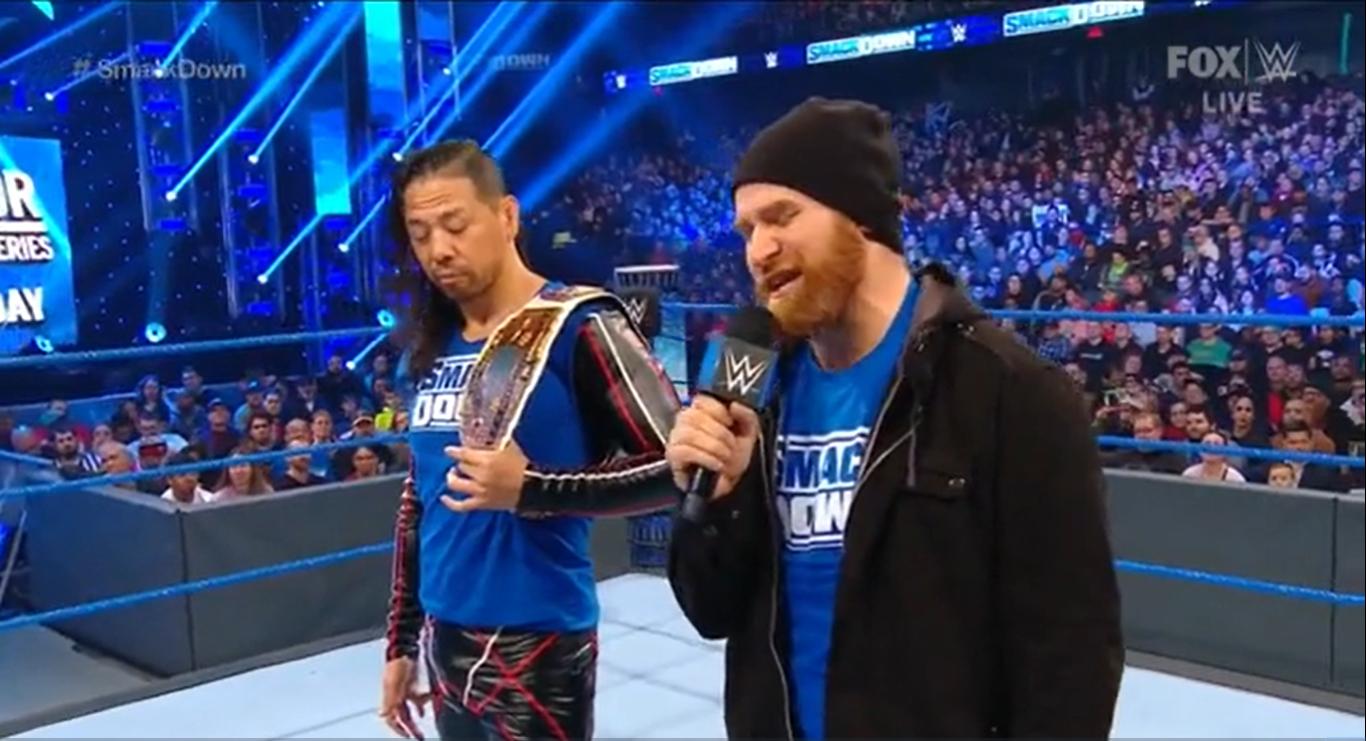 WWE SMACKDOWN (22 de noviembre 2019) | Resultados en vivo | A un paso de Survivor Series 11