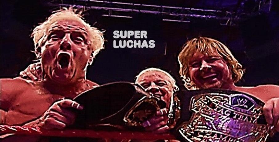 A trece años del último título de Ric Flair y Roddy Piper 1