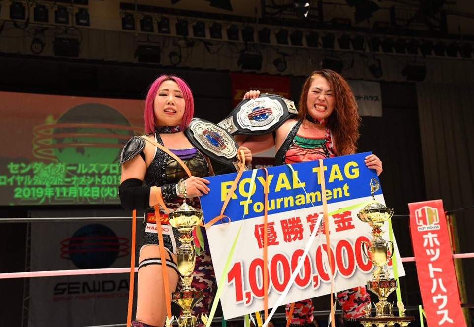Image result for Sendai Girls Royal Tag Tournament 2019