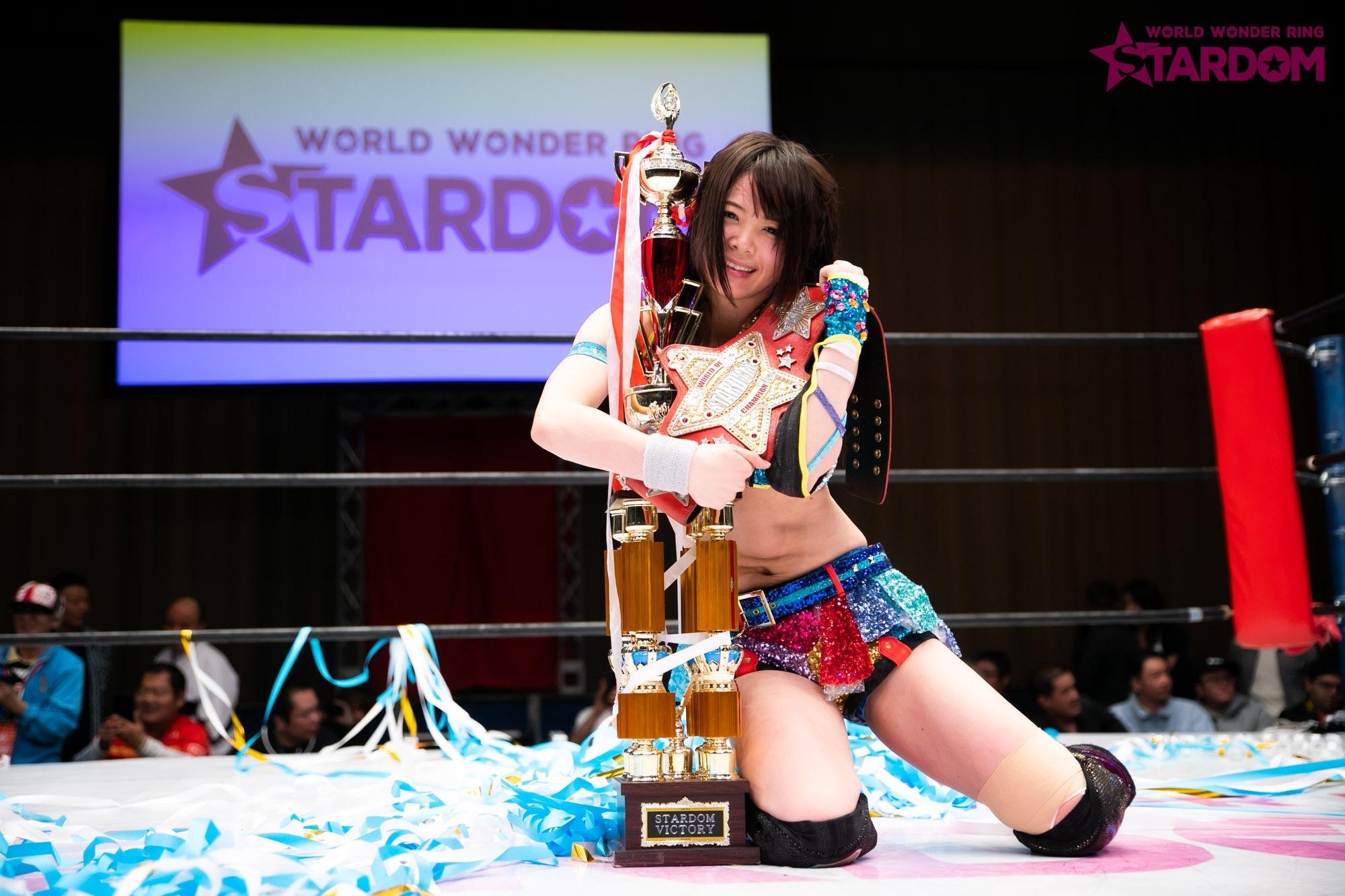 """Stardom: """"Best of Goddess 2019"""" Mayu Iwatani se corona 5"""