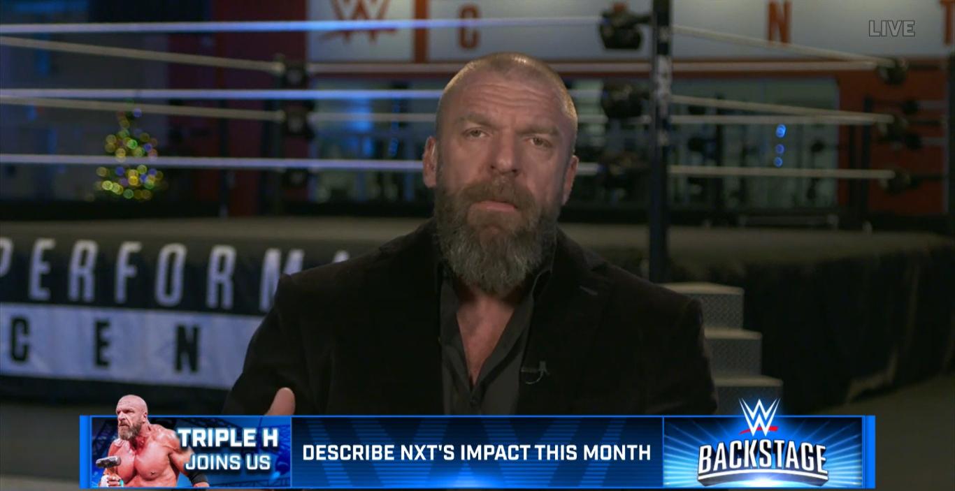 Entrevista a Triple H en WWE Backstage
