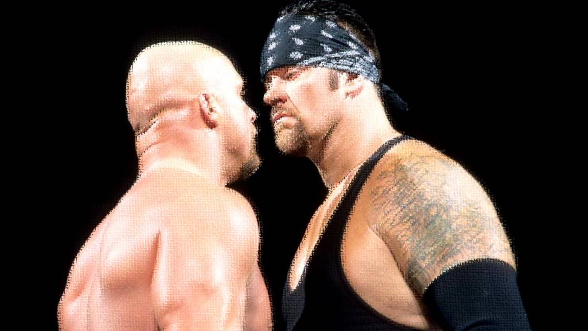Stone Cold le quita el personaje a The Undertaker 1