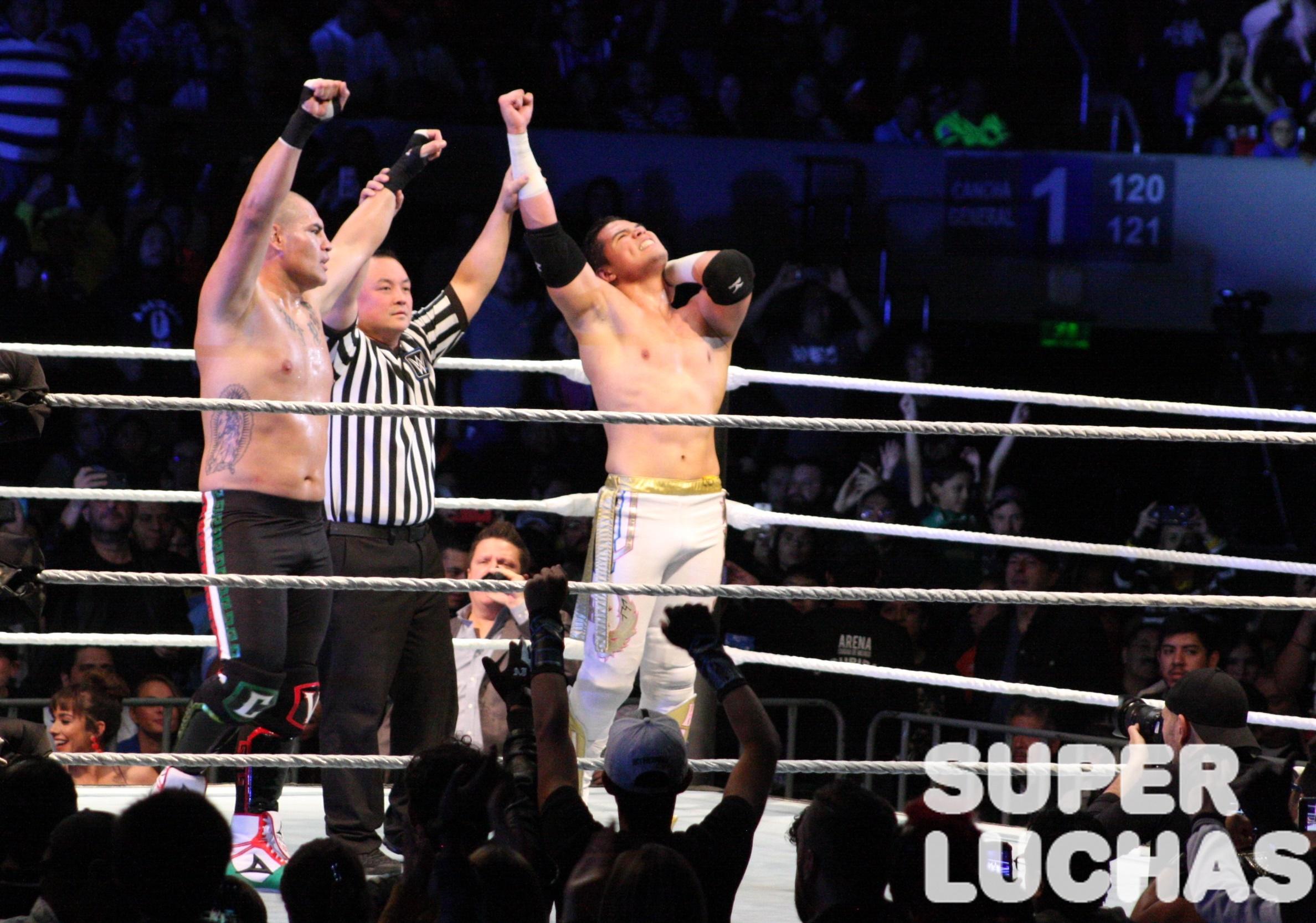 WWE en México: Galería y resultados 30/11/19 28