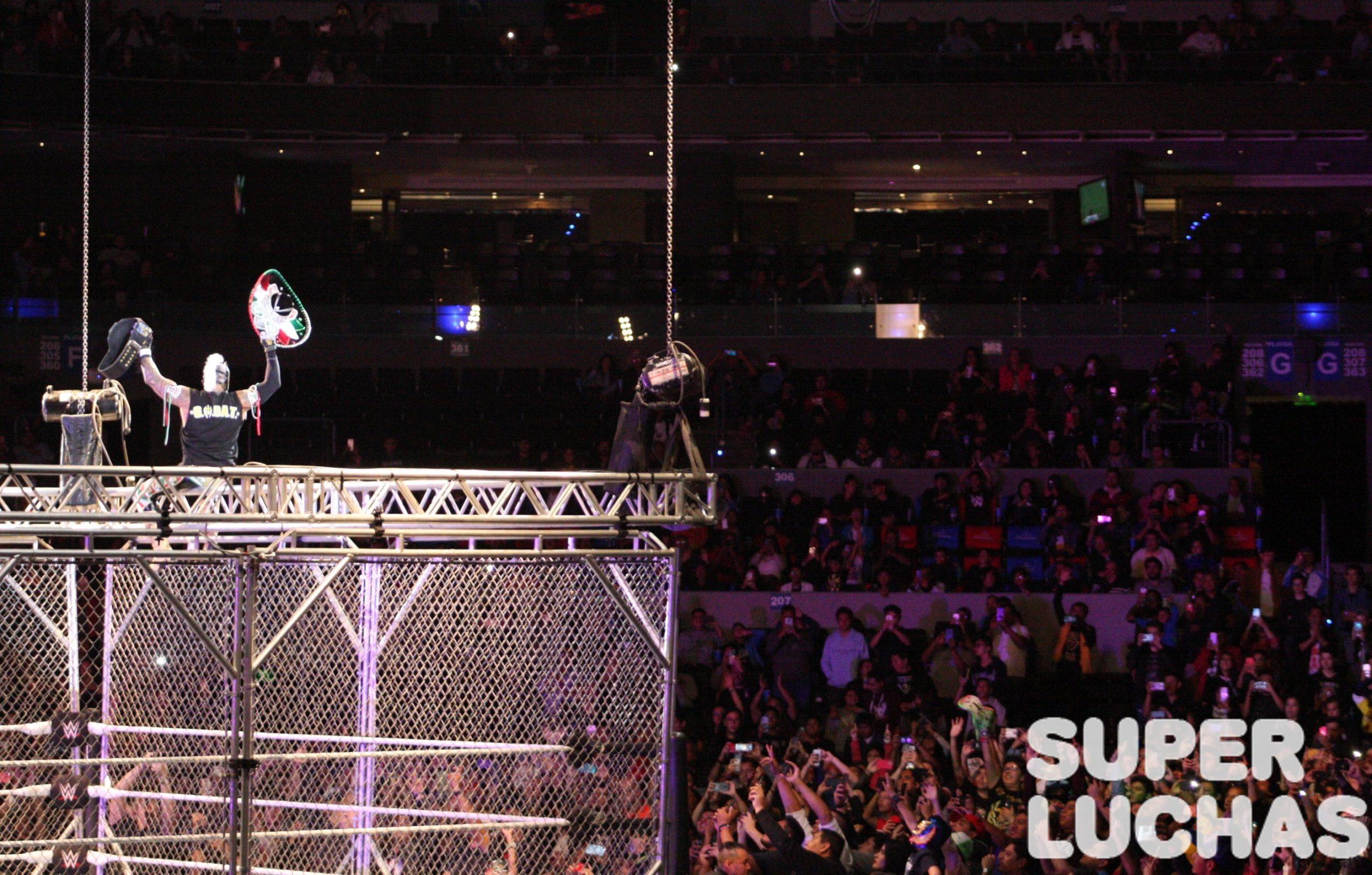 WWE en México: Galería y resultados 30/11/19 31