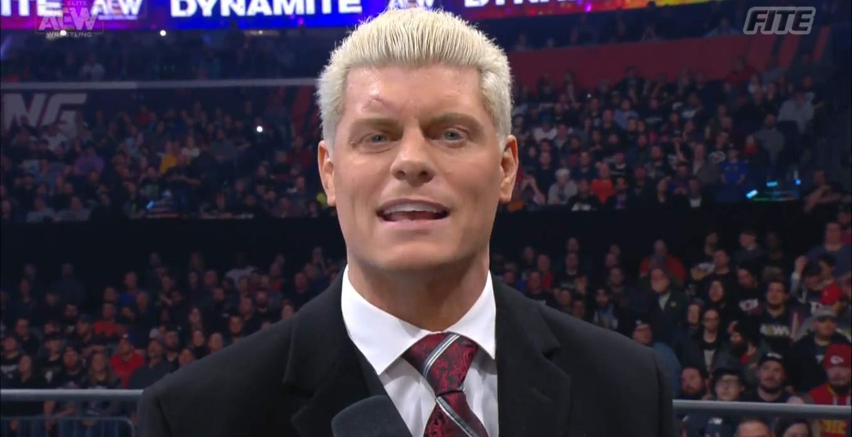 Cody Rhodes y sus comparaciones entre AEW y WWE