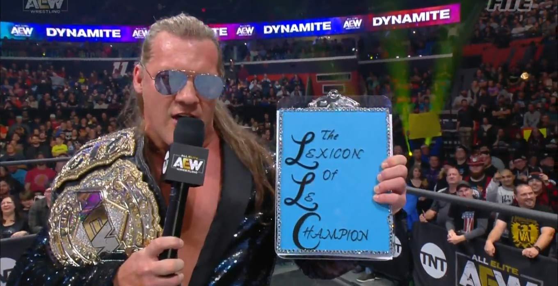 Chris Jericho y su Lexicon of Le Champion