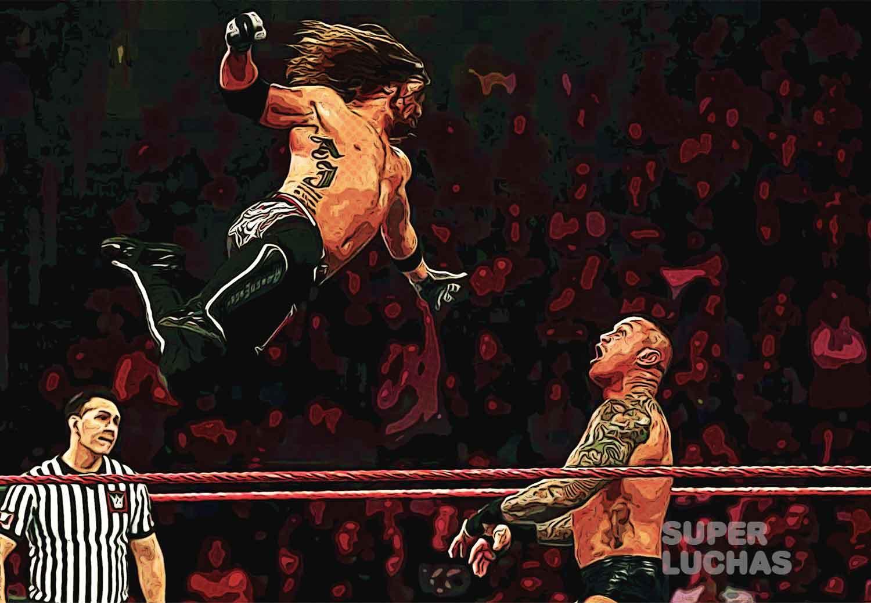 AJ Styles vs. Randy Orton