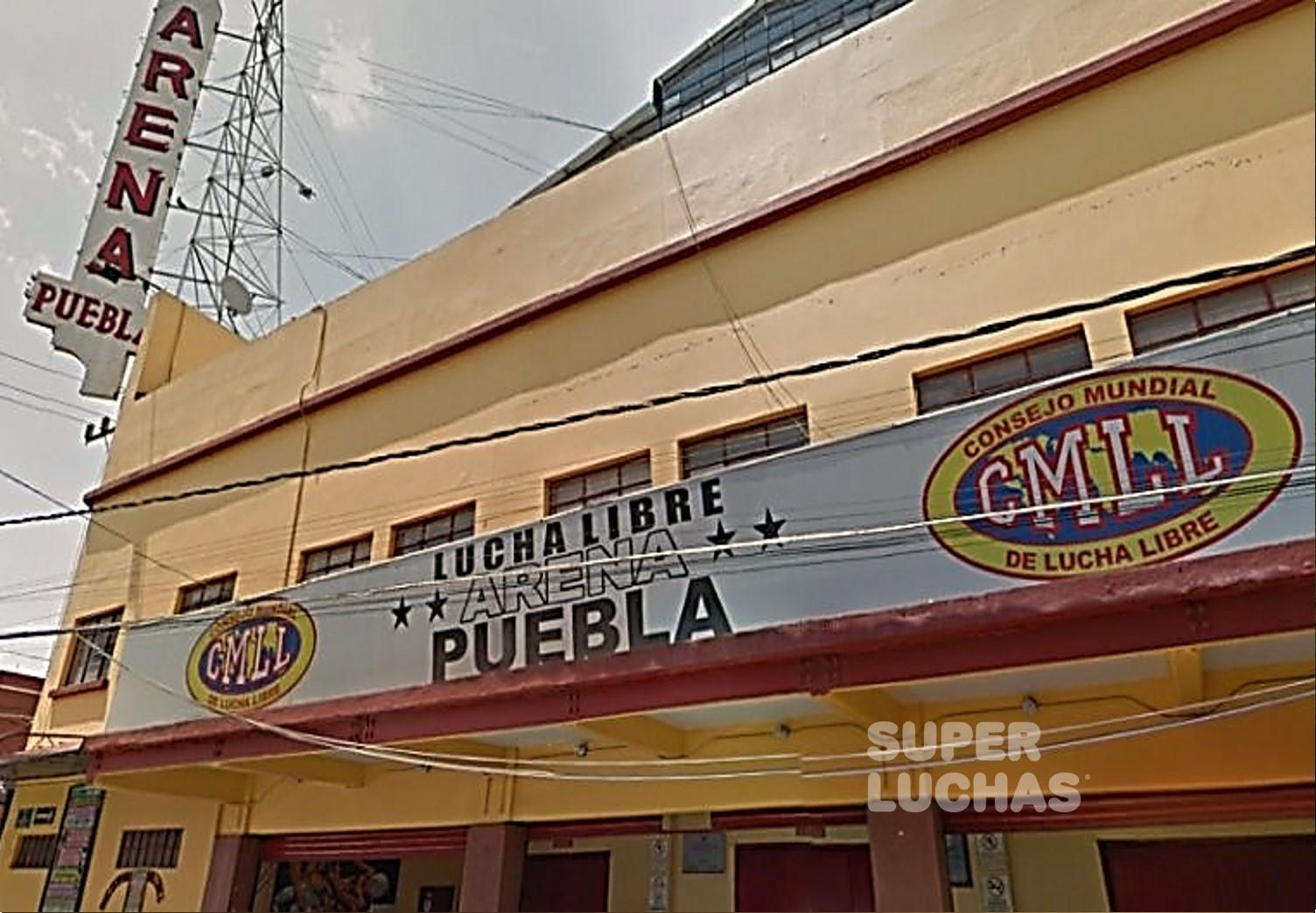 CMLL: Roban la taquilla del Lunes Clásico de la Arena Puebla 1