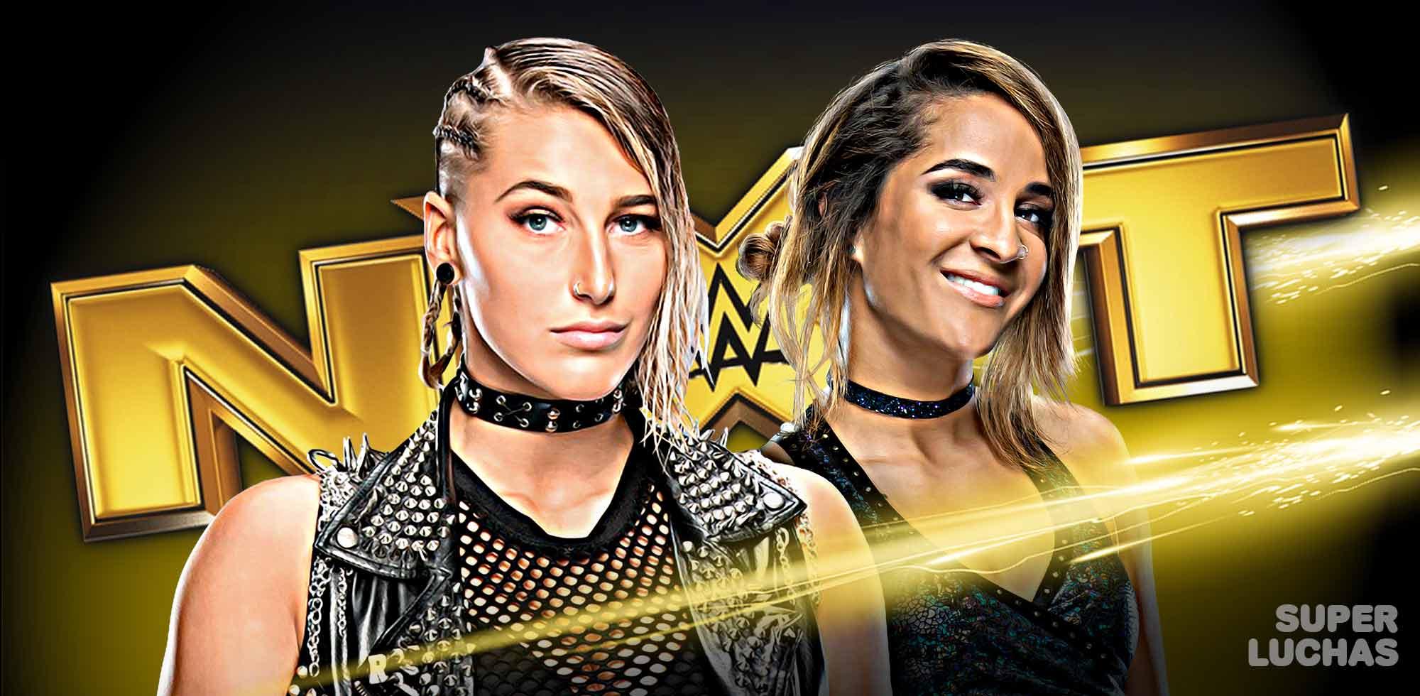 Resultados NXT 4 de diciembre 2019