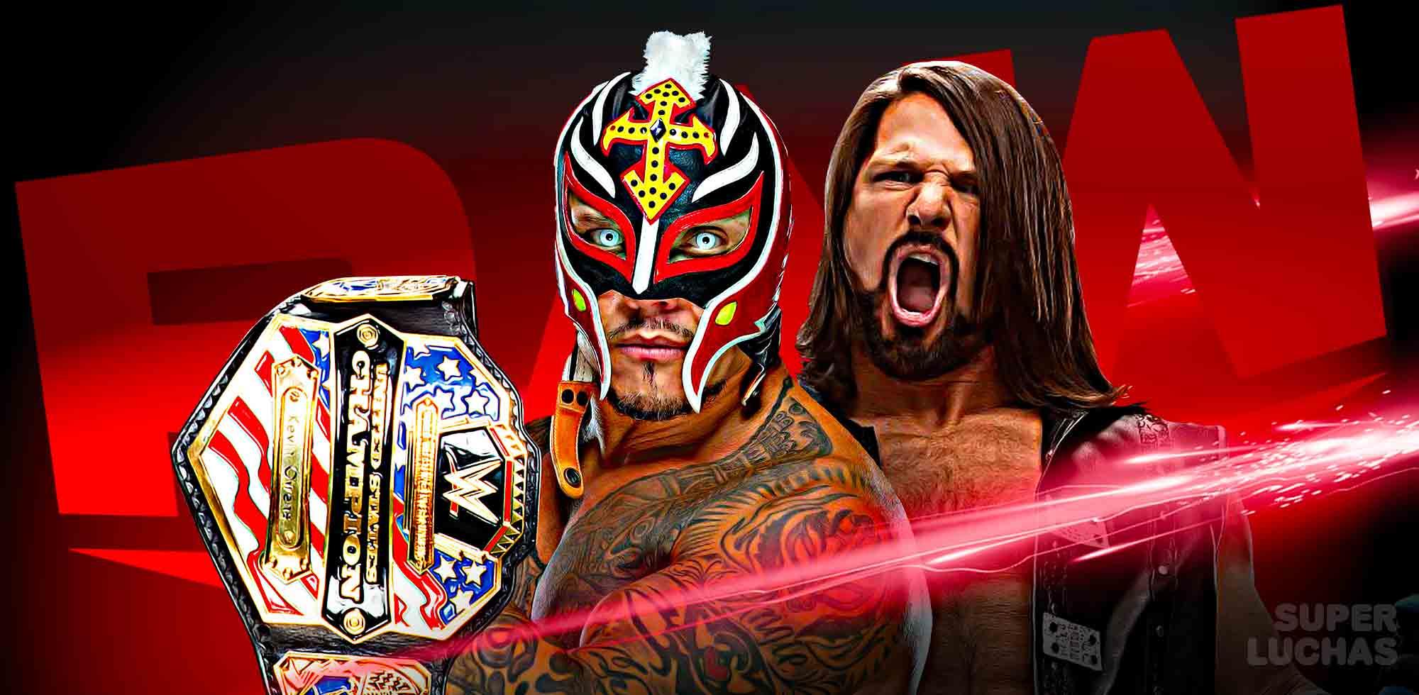 Resultados Raw 9 de diciembre 2019