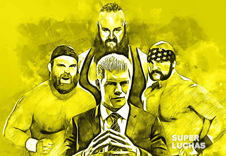 Four Horsemen Cody Rhodes Revival Braun Strowman
