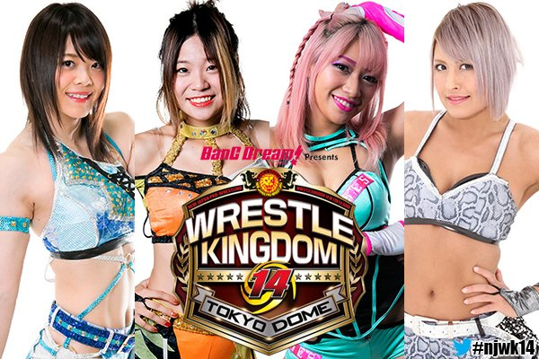 NJPW: Habrá lucha femenil en Wrestle Kingdom 14 1