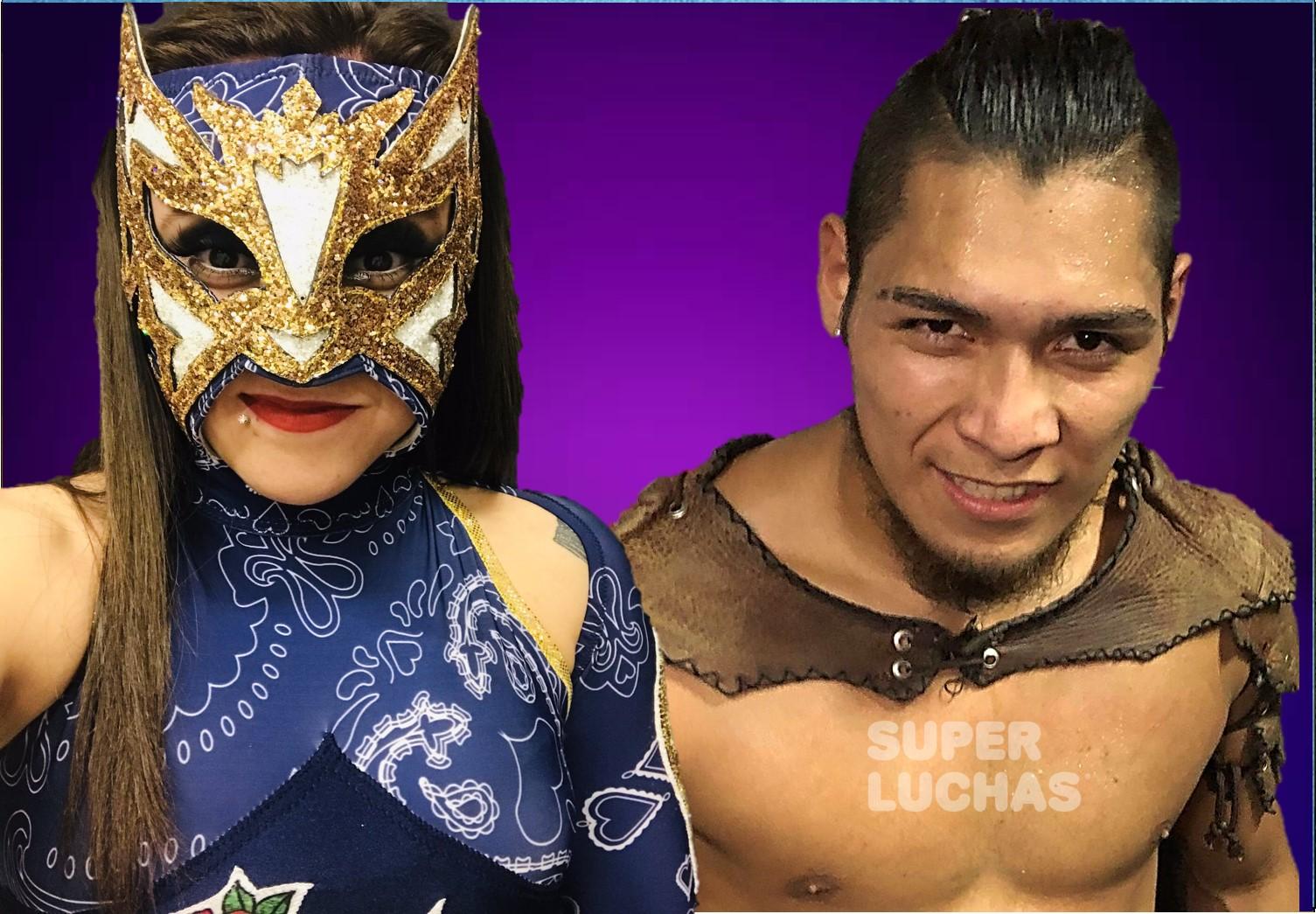 AAA: Hijo del Vikingo y Keyra ganan Lucha Capital 2 1