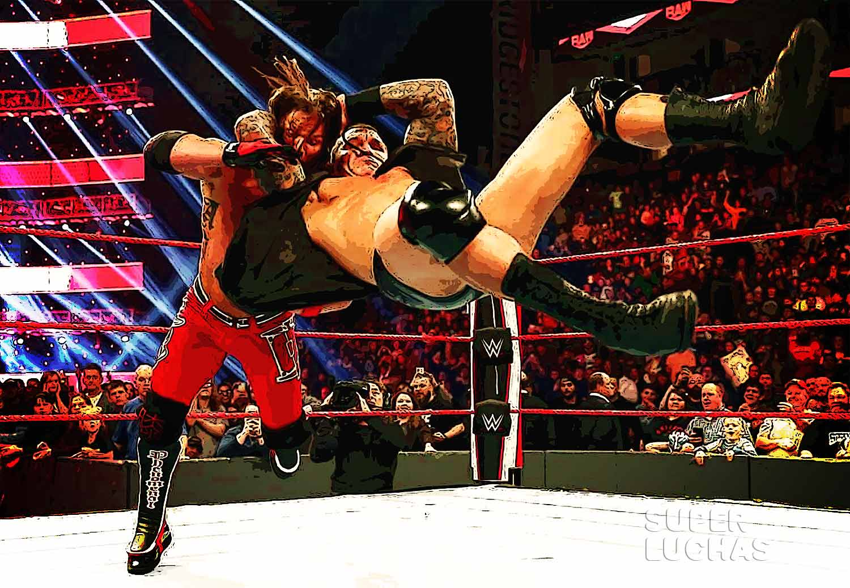 RKO Randy Orton AJ Styles