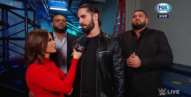 Seth Rollins listo para Raw