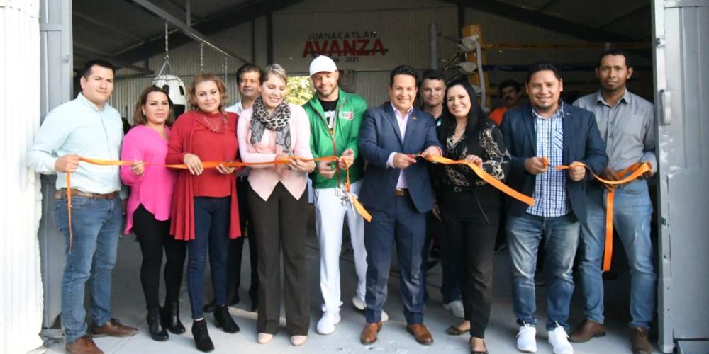 Inauguraron el gimnasio Rigoberto Español Álvarez 4
