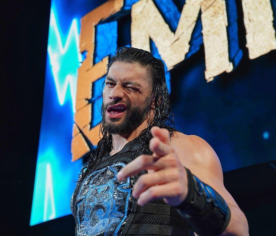 Roman Reigns / Instagram.com/WWE Roman Reigns vs The Fiend