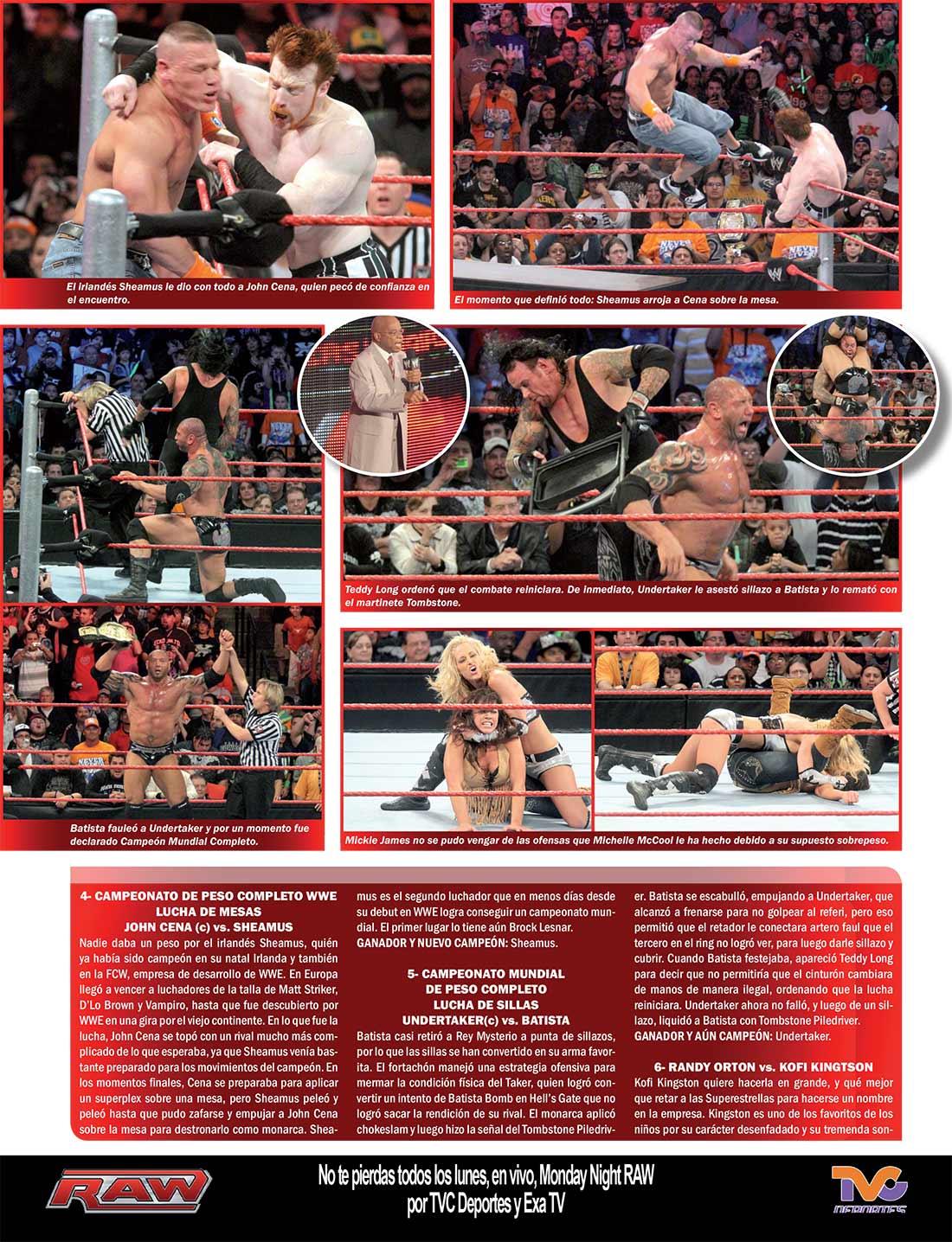 primer evento TLC de WWE