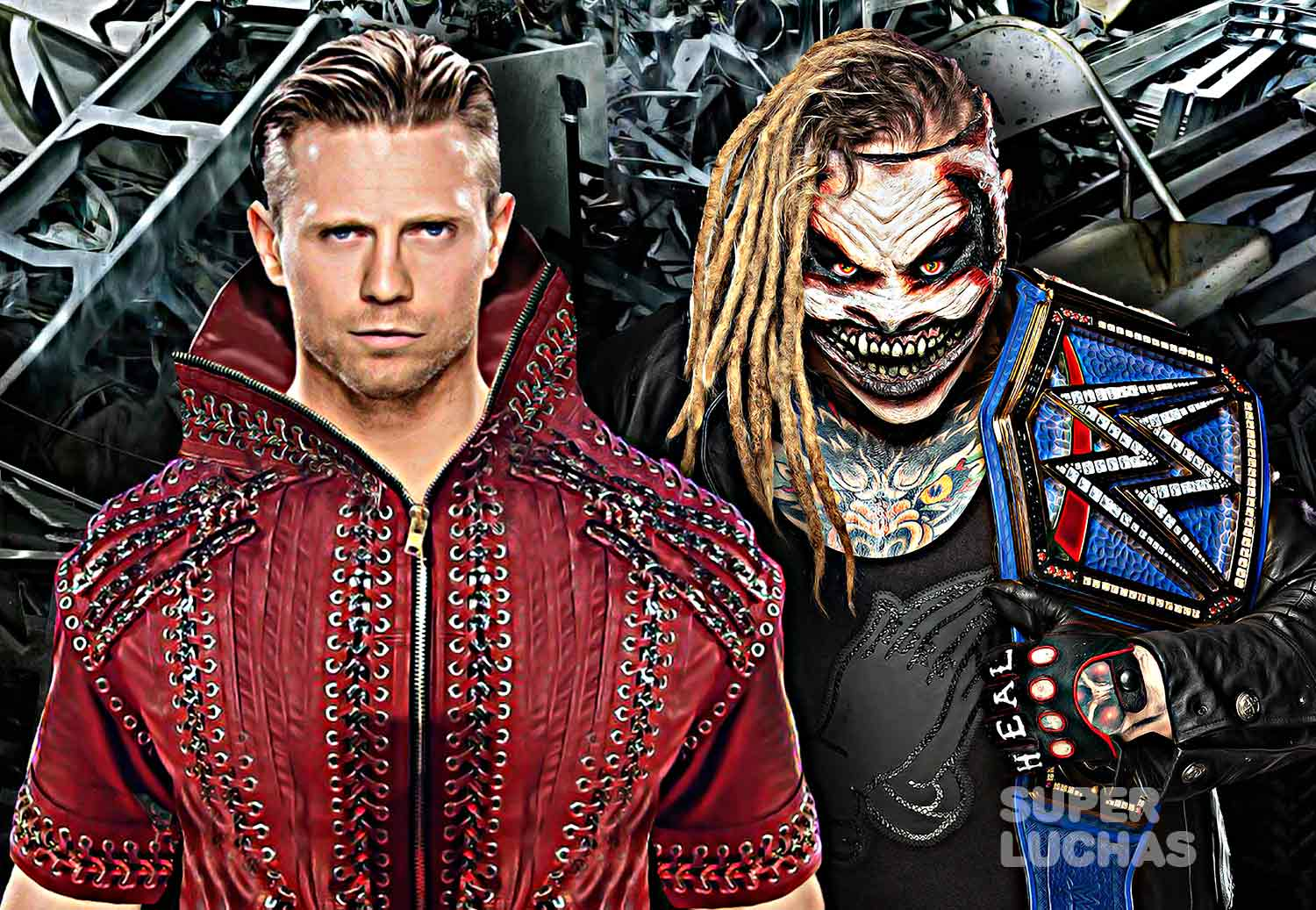The Miz vs. The Fiend