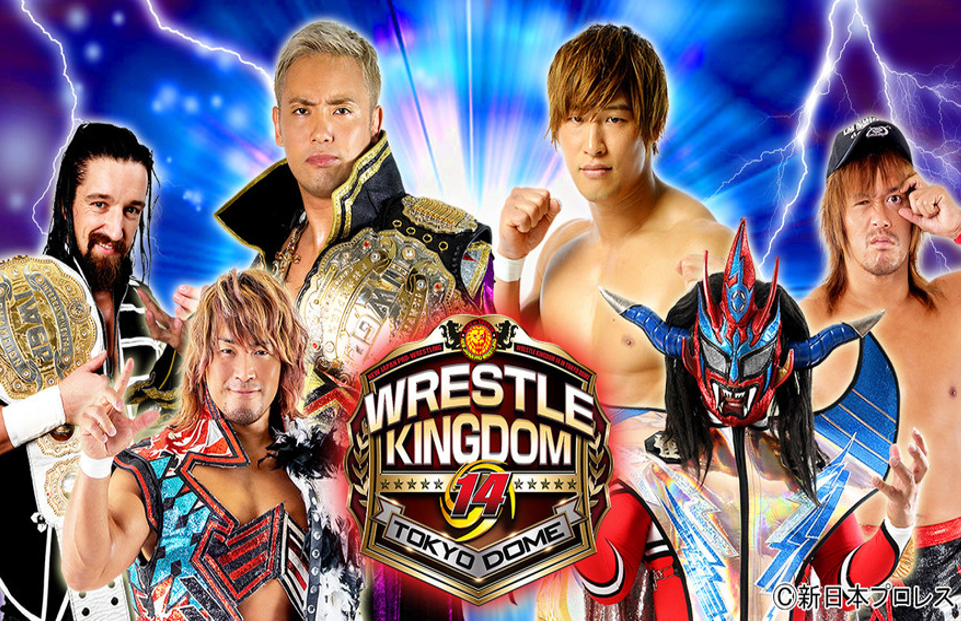 NJPW: Carteles para Wrestle Kingdom 14 1