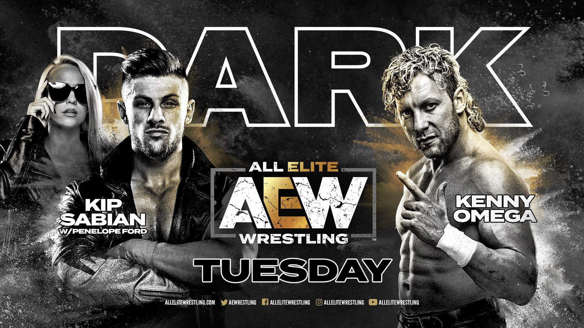 Resultados AEW Dark Episodio 10 | Kenny Omega vs. Kip Sabian 1
