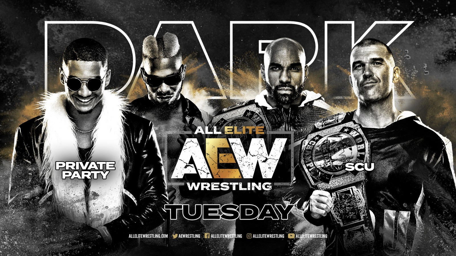 Resultados AEW Dark Episodio 11 | SCU vs. Private Party 10