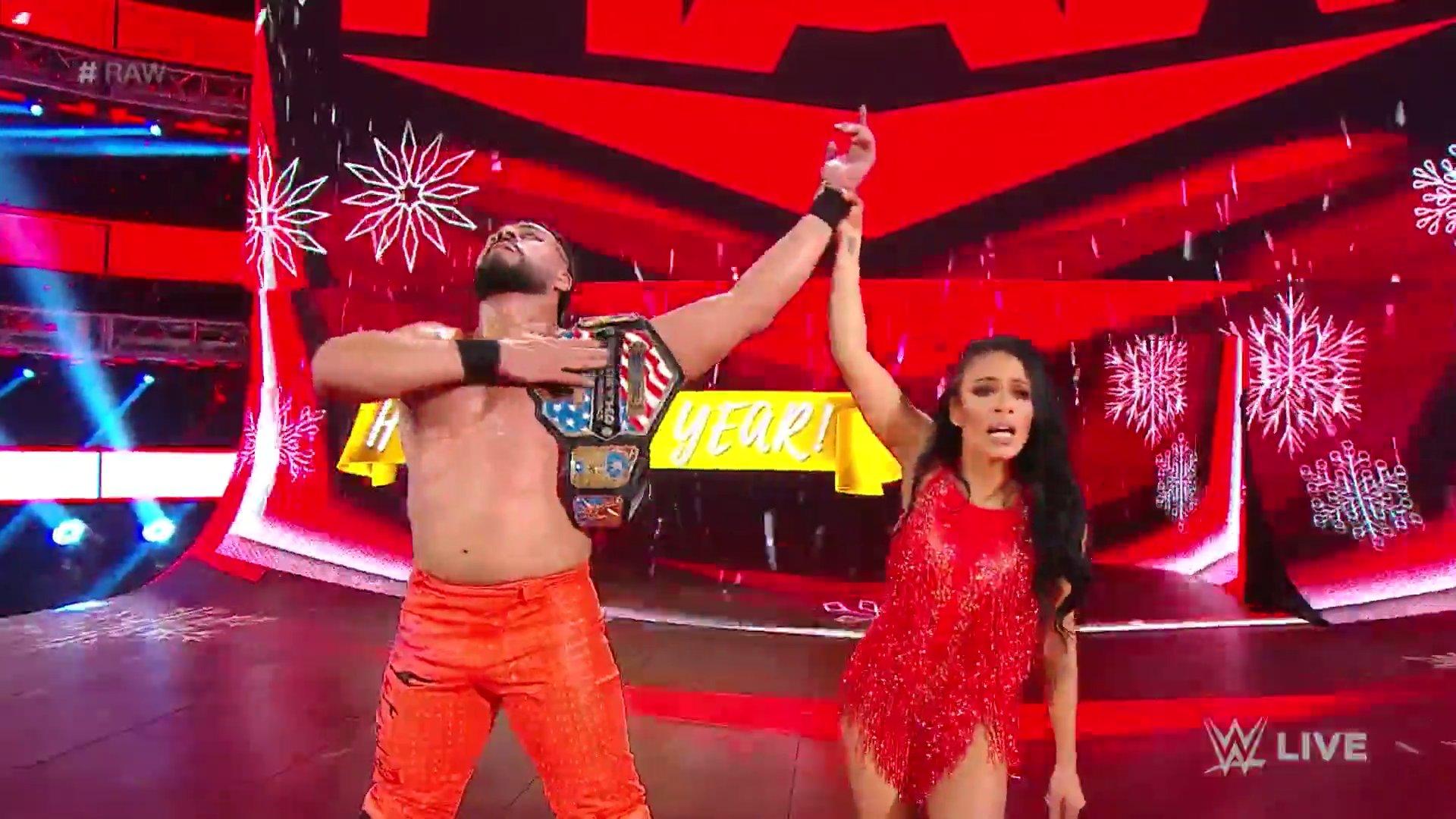 WWE RAW (30 de diciembre 2019) | Resultados en vivo | La boda de Lana y Bobby Lashley 51