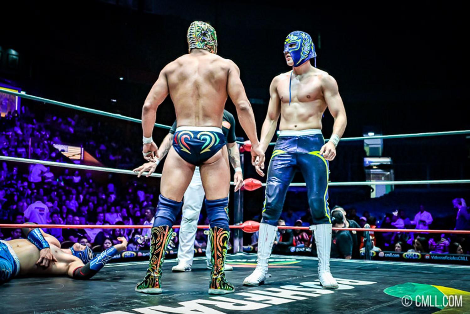 CMLL: Titán y Soberano Jr. tras el Campeonato Mundial Welter 16