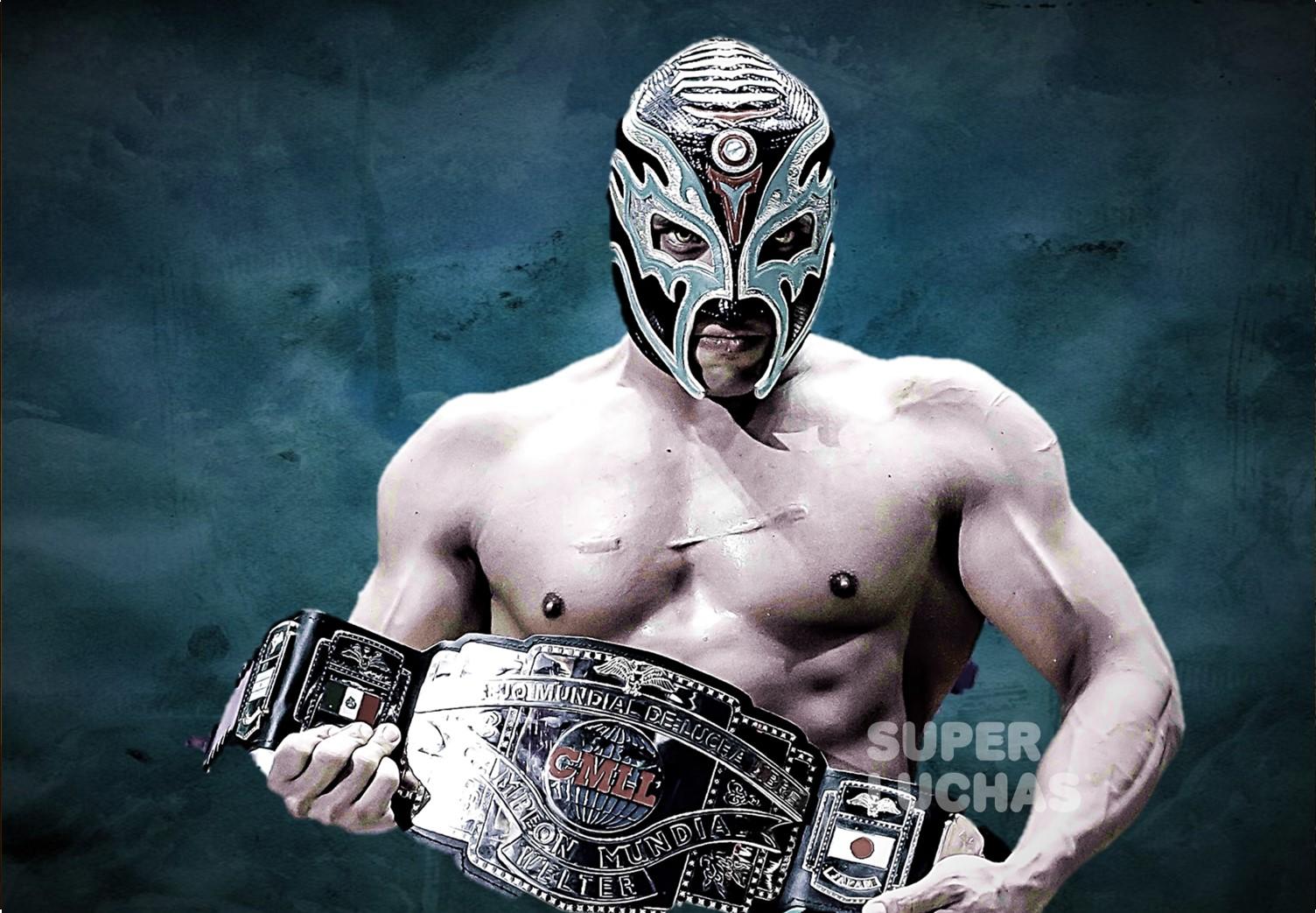 CMLL: Titán, nuevo campeón mundial Welter 5