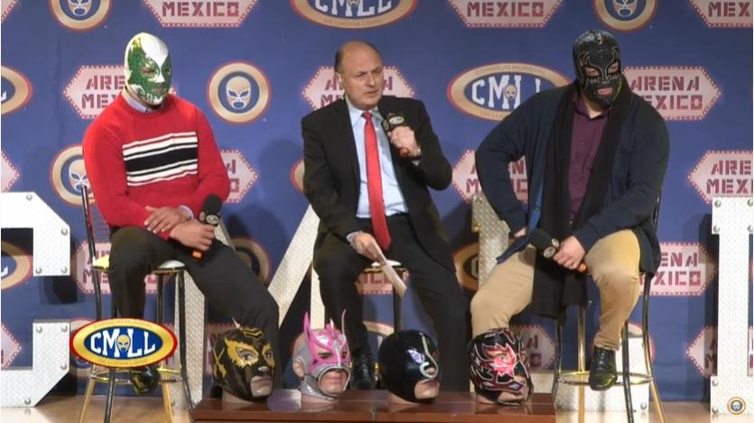 """CMLL: El 1 de enero, """"Sin Piedad"""" lucha de máscaras y lucha de cabelleras 2"""