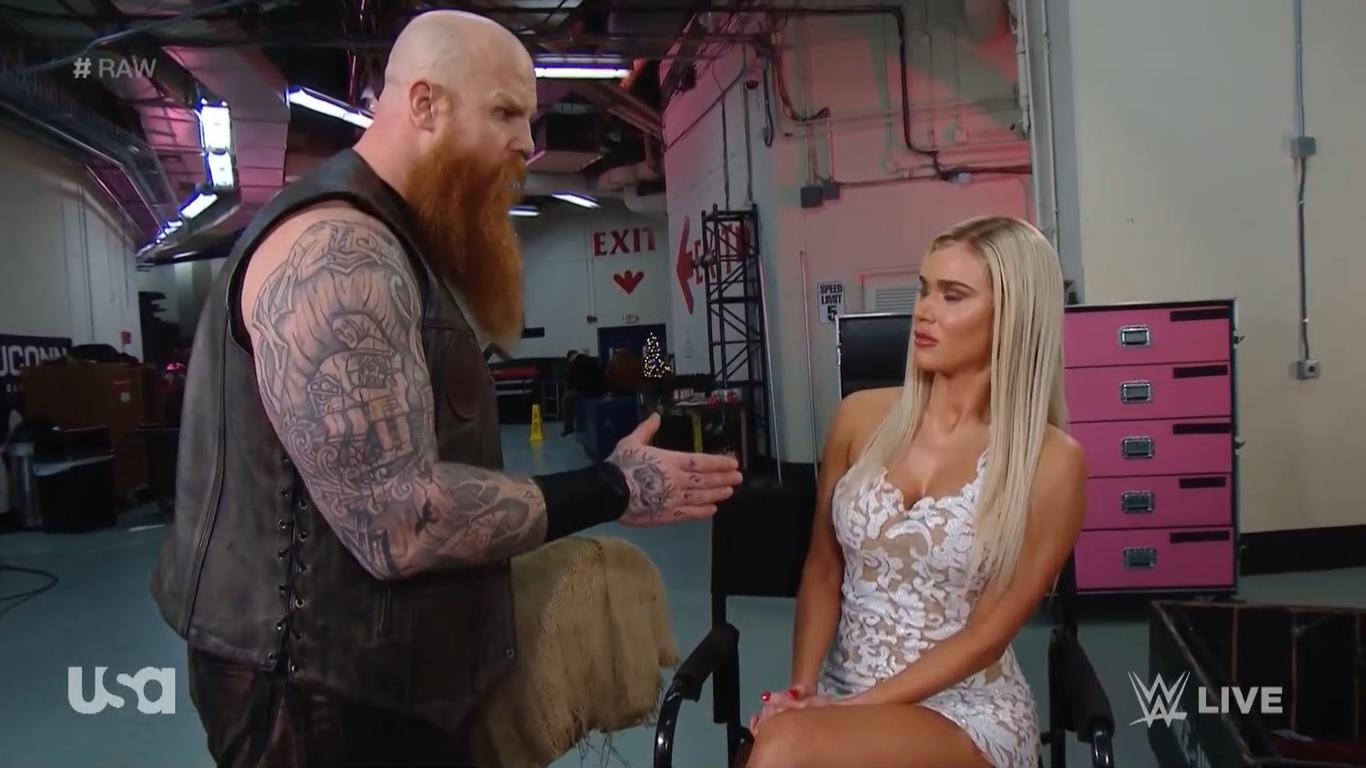 WWE RAW (30 de diciembre 2019) | Resultados en vivo | La boda de Lana y Bobby Lashley 15