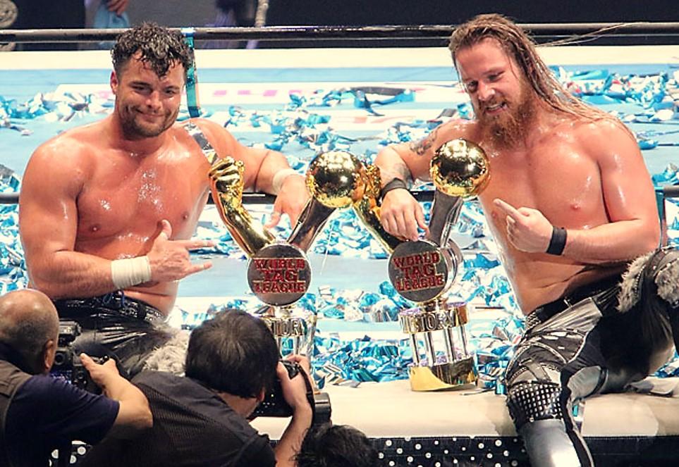 "NJPW: ""World Tag League 2019"" Robinson y Finlay ganan la final 1"