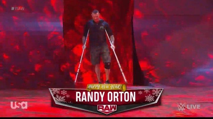 WWE RAW (30 de diciembre 2019) | Resultados en vivo | La boda de Lana y Bobby Lashley 38