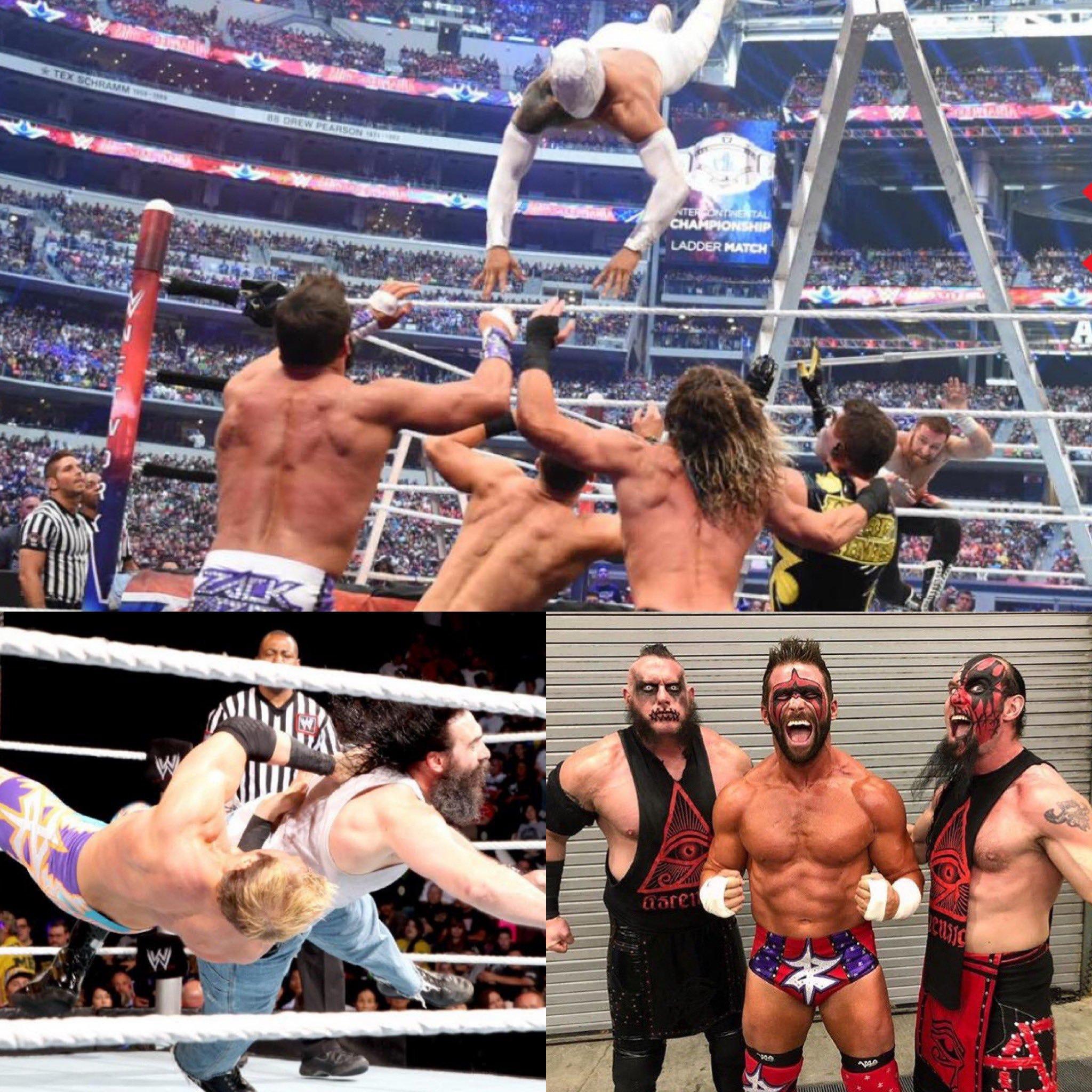 Zack Ryder y las cuatro superestrellas que salieron de WWE