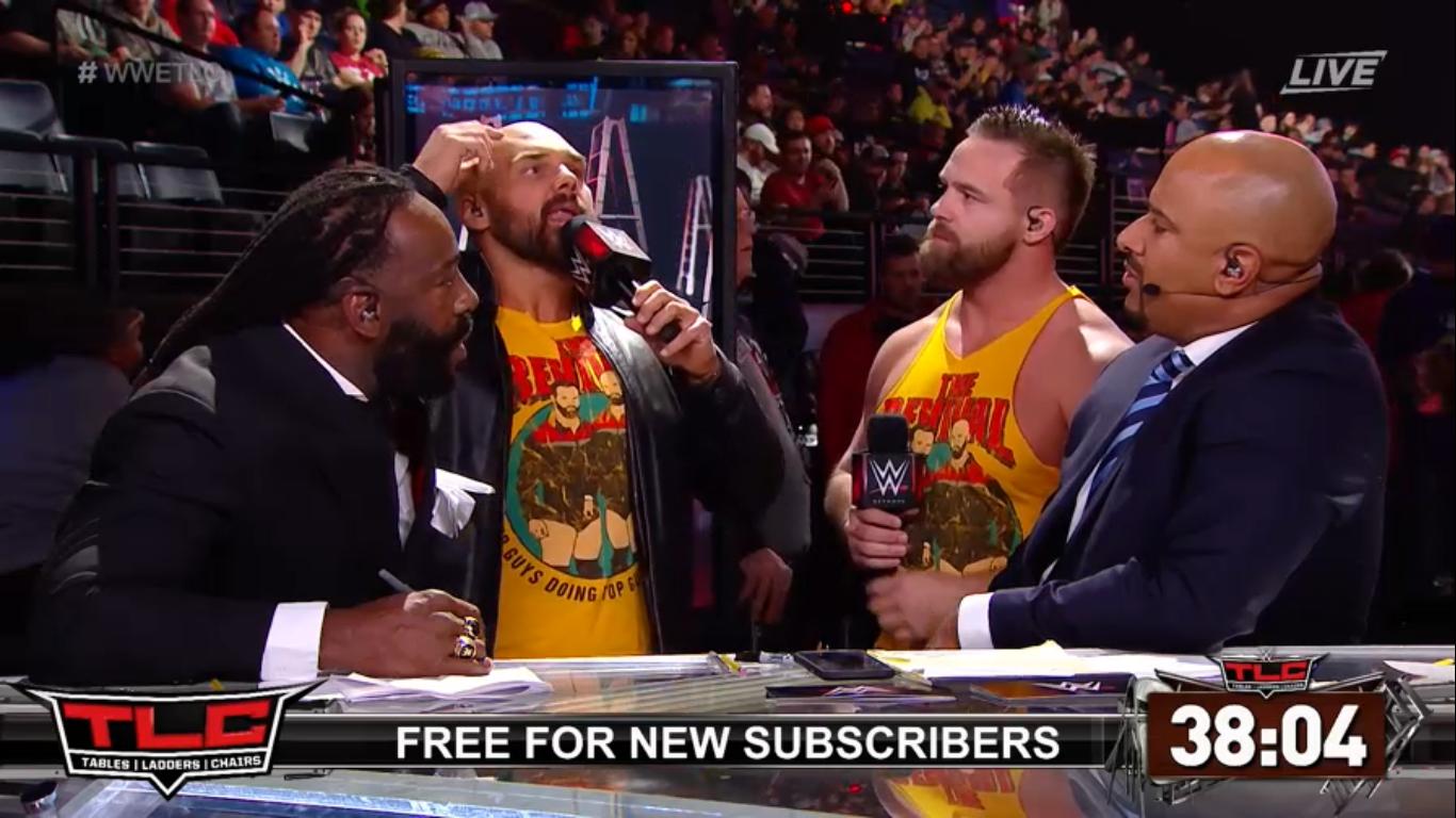 WWE TLC 2019 | Resultados en vivo | Roman Reigns vs. King Corbin 2