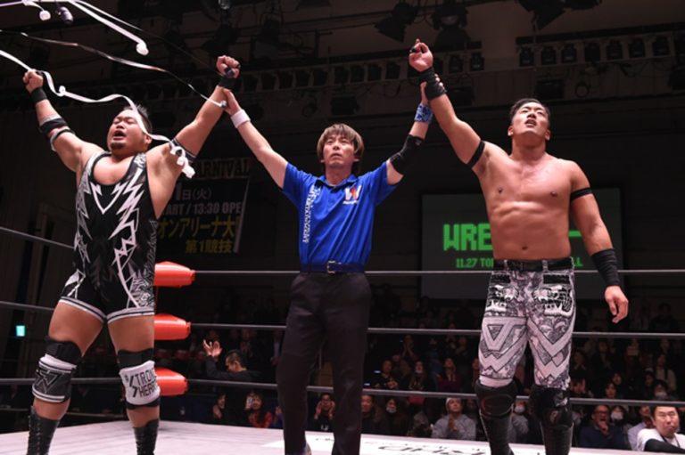 W-1: T-Hawk y Shigehiro Irie se llevan el Wrestle-1 Tag League 1