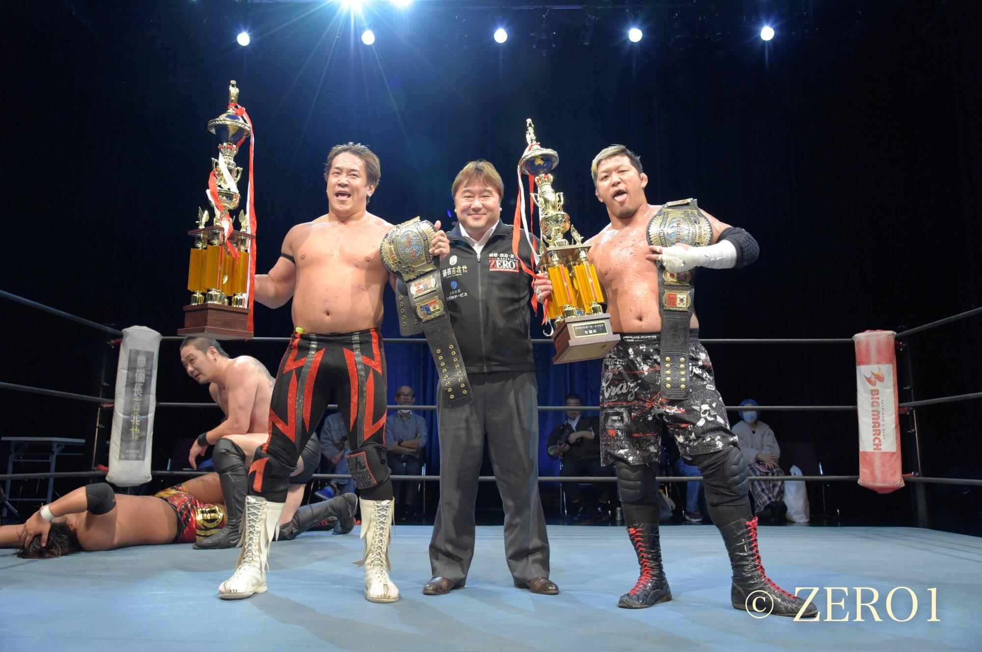 Zero1: Yuko Miyamoto y Masashi Takeda siguen como campeones 10