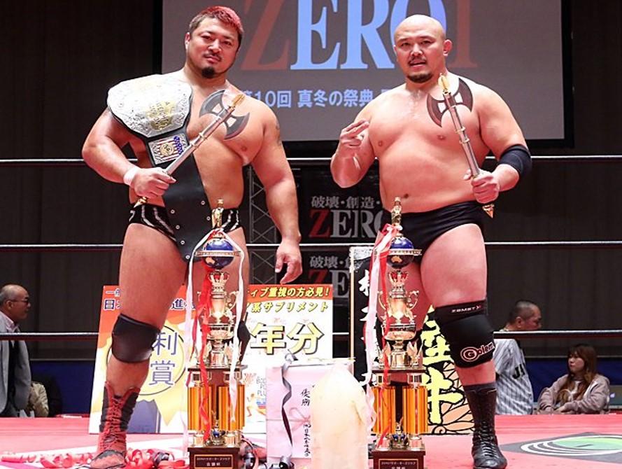"""Zero1: """"Furinkanzan Tag League 2019"""" Hino y Okabayashi son los ganadores 2"""