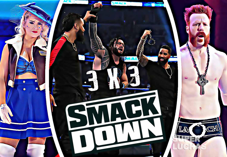 3X3 SmackDown 3 de enero 2020