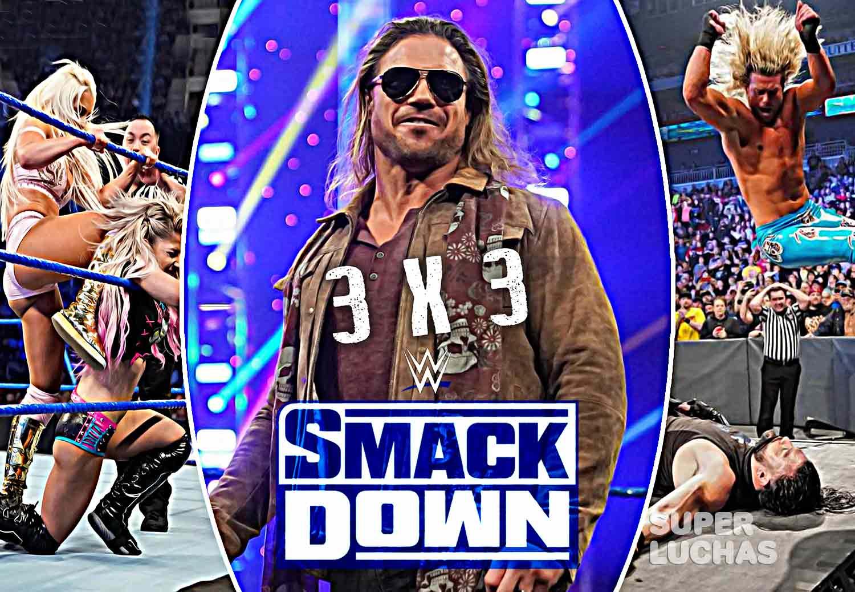 3x3 SmackDown 11 de enero 2020