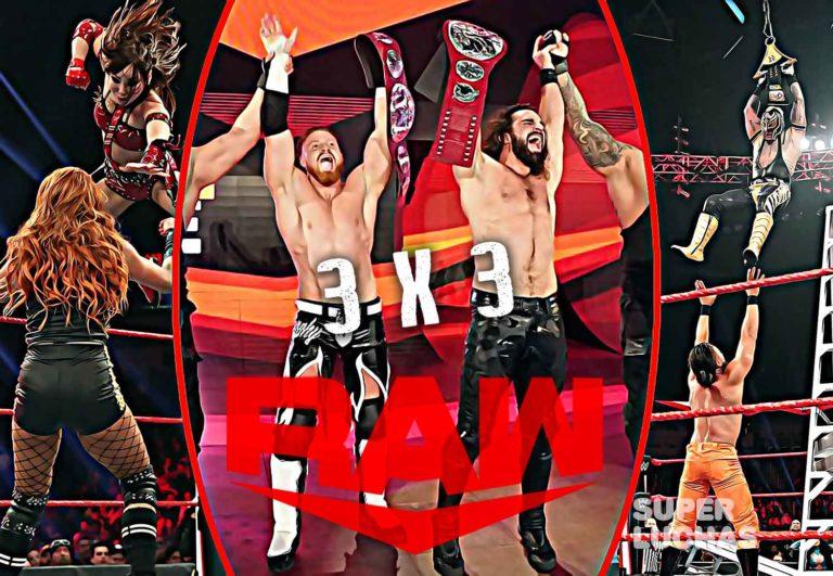 3x3 Raw 20 de enero 2020