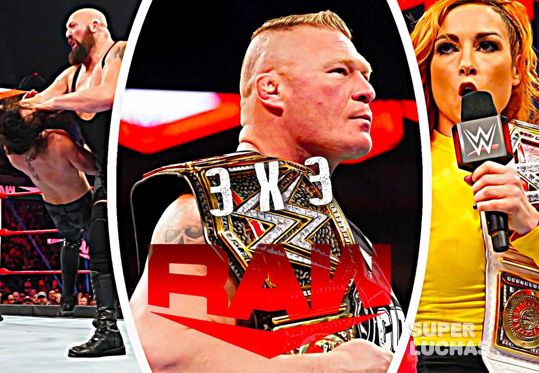 3x3 Raw 6 de enero 2020