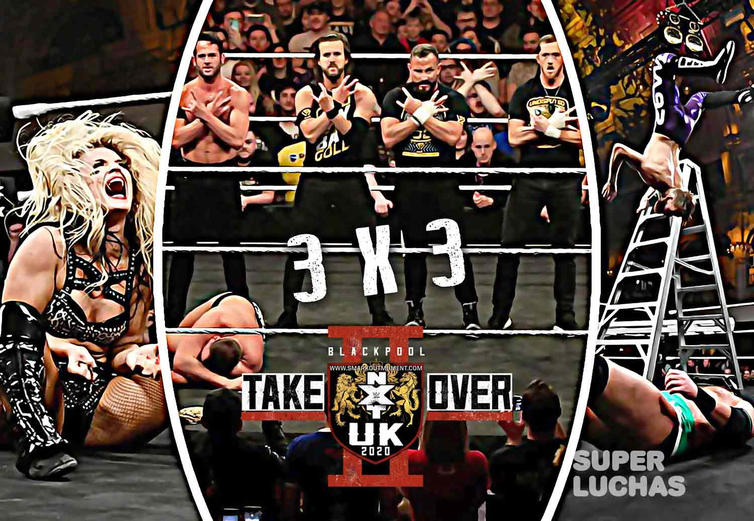 3x3 NXT Takeover Blackpool II