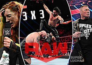 3x3 Raw 13 de enero 2020