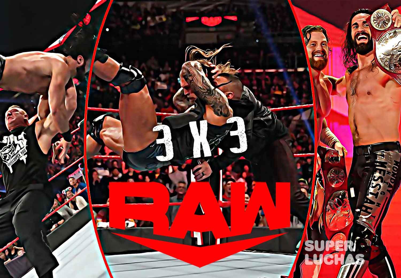 3x3 Raw 27 de enero 2020